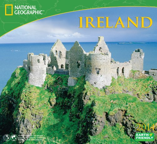 9781554566563: 2014 National Geographic Ireland Deluxe Wall