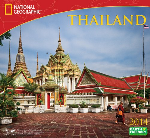 9781554566648: 2014 National Geographic Thailand Deluxe Wall