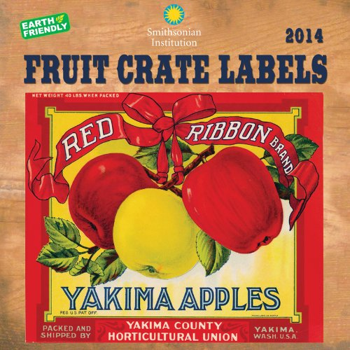 9781554566716: 2014 Fruit Crate Labels Wall
