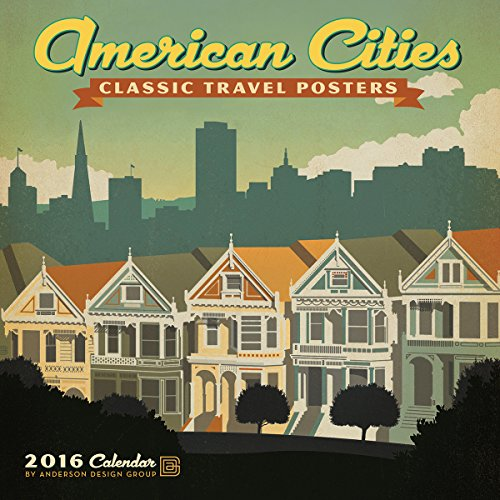 9781554569106: Cal 2016 American Cities Classic Posters