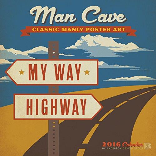 9781554569182: Man Cave 2016 Wall Calendar