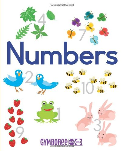 Gymboree Numbers: Learn to Count in Five Languages (Gymboree Play & Music) (English, Spanish, ...
