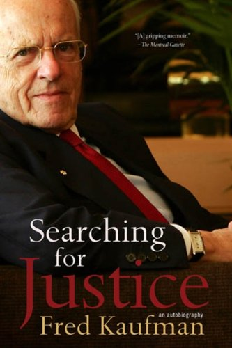 9781554701896: Searching for Justice: An Autobiography