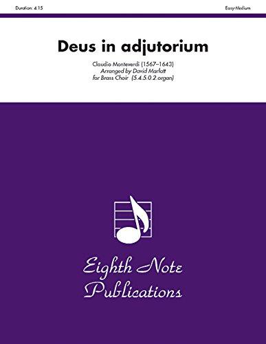 9781554722709: Deus in Adjutorium (Score & Parts) (Eighth Note Publications)