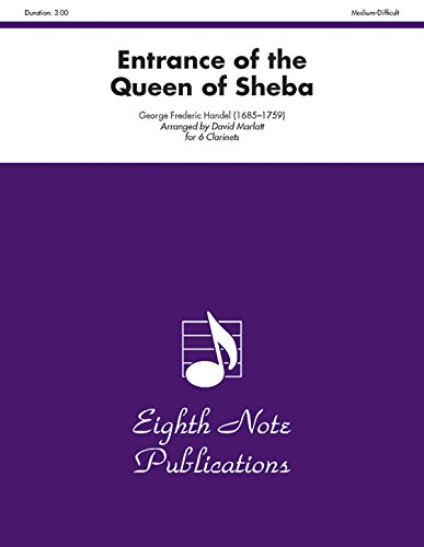9781554723379: Entrance of the Queen of Sheba: Score & Parts (Eighth Note Publications)