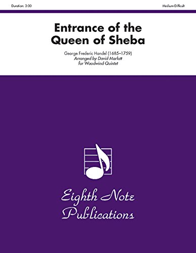 9781554723393: Entrance of the Queen of Sheba: Score & Parts (Eighth Note Publications)