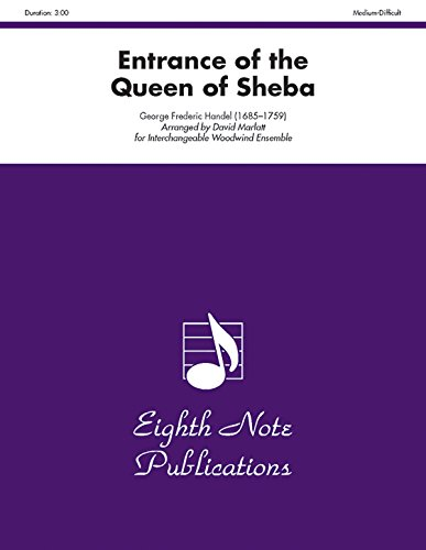 9781554723416: Entrance of the Queen of Sheba: Score & Parts (Eighth Note Publications)