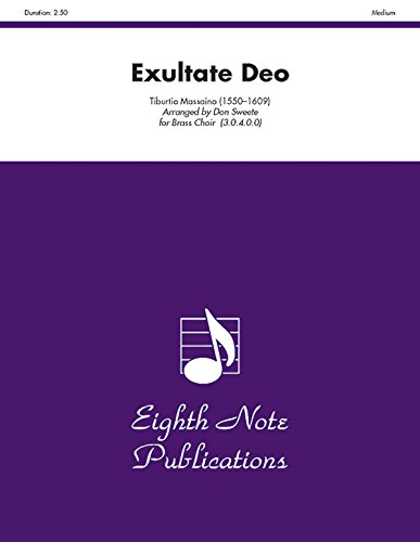 Exultate Deo, Medium (Sheet music)
