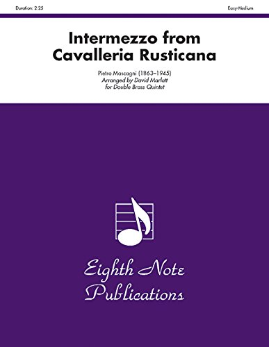 9781554724857: Intermezzo (from Cavalleria Rusticana): Score & Parts (Eighth Note Publications)