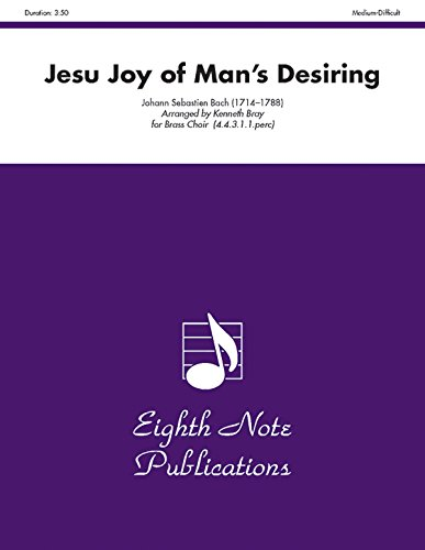 9781554724925: Jesu Joy of Mans Desiring (Score & Parts) (Eighth Note Publications)