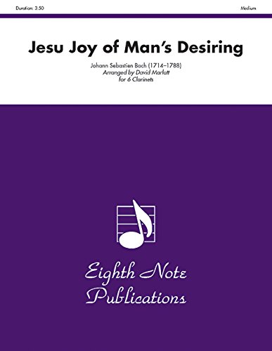 9781554724949: Jesu Joy of Mans Desiring (Score & Parts) (Eighth Note Publications)