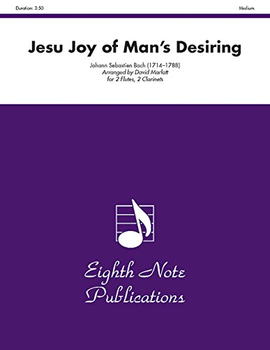 9781554725038: Jesu Joy of Mans Desiring (Score & Parts) (Eighth Note Publications)