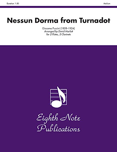 Nessun Dorma (from Turnadot): Score & Parts (Eighth Note Publications) (1554726700) by [???]