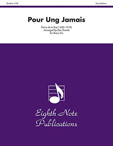 9781554727681: Pour Ung Jamais: Score & Parts (Eighth Note Publications)