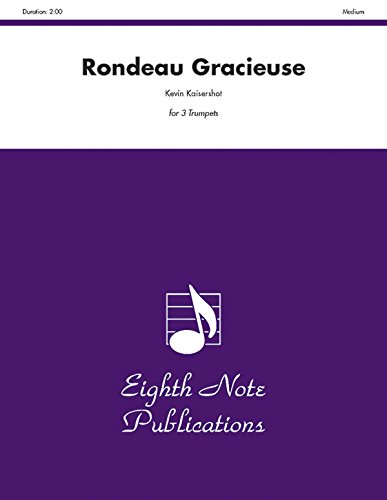 Rondeau Gracieuse Format: Score & Parts: By Kevin Kaisershot