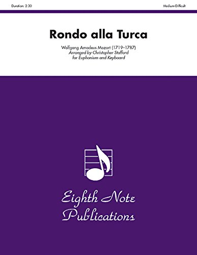 Rondo Alla Turca: Part(s) (Eighth Note Publications): Alfred Music