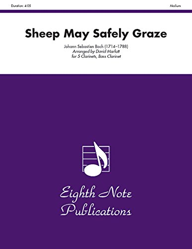 9781554728794: Sheep May Safely Graze: Score & Parts
