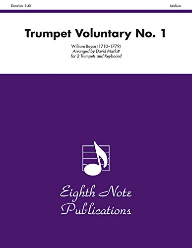 Trumpet Voluntary No. 1: Part(s) (Eighth Note Publications) (1554730937) by [???]