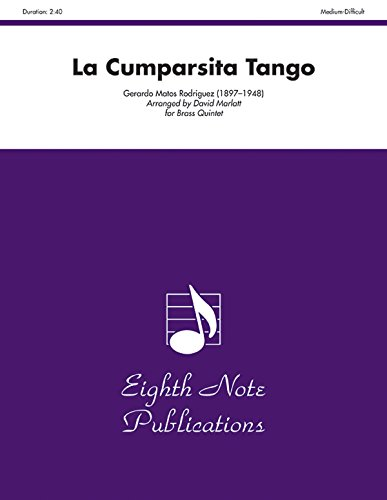 9781554732050: La Cumparsita Tango: Score & Parts (Eighth Note Publications)