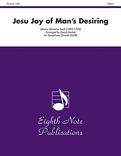 9781554732982: Jesu Joy of Mans Desiring (Score & Parts) (Eighth Note Publications)