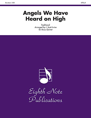 9781554733439: Angels We Have Heard on High (Score & Parts) (Eighth Note Publications)