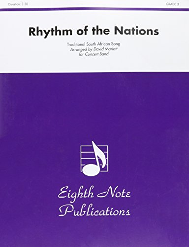 9781554734207: Rhythm of the Nations -- Ipharadisi (ee pah rah dee see) (Conductor Score) (Eighth Note Publications)