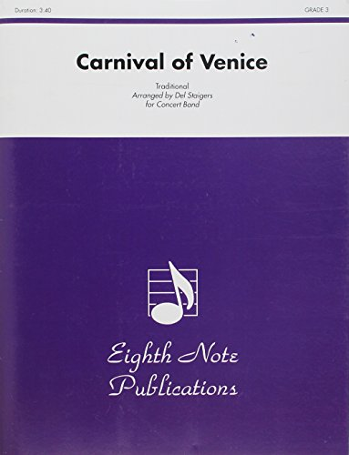 9781554734320: Carnival of Venice: Solo Cornet and Concert Band, Conductor Score (Eighth Note Publications)