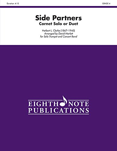 9781554735884: Side Partners: Cornet Solo or Duet and Band, Conductor Score (Eighth Note Publications)