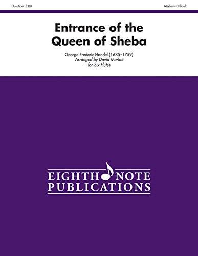 9781554737000: Entrance of the Queen of Sheba: Score & Parts (Eighth Note Publications)