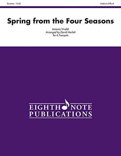 9781554738779: Spring from The Four Seasons: Score & Parts (Eighth Note Publications)