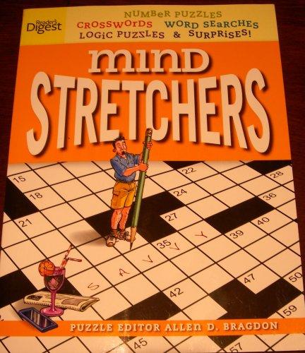 9781554751044: Reader's Digest Mind Stretchers Saffron Edition Crosswords Word Searches Logic Puzzles and Surprises! [Paperback] (Saffron Edition)