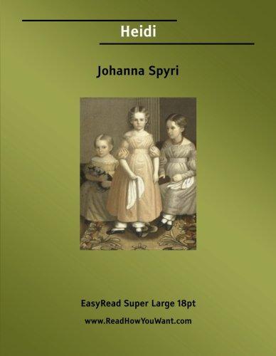 Heidi (1554802733) by Johanna Spyri