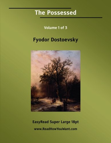 The Possessed (9781554804740) by Dostoevsky, Fyodor