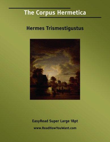 9781554806720: The Corpus Hermetica