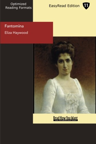 9781554808816: Fantomina (EasyRead Edition): Or, Love in a Maze.