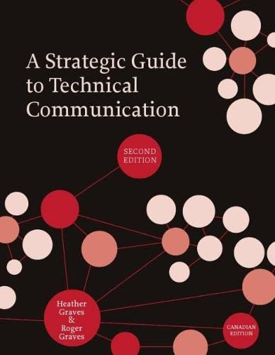 9781554810239: A Strategic Guide to Technical Communication - Second Edition (Canadian)