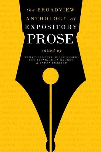 The Broadview Anthology of Expository Prose: Second