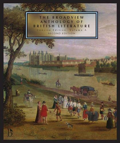 9781554810482: The Broadview Anthology of British Literature: Concise Volume A - Second Edition