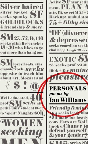 Personals (155481104X) by Ian Williams