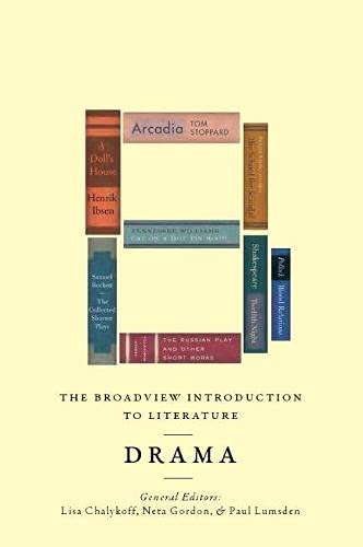 9781554811786: The Broadview Introduction to Literature: Drama