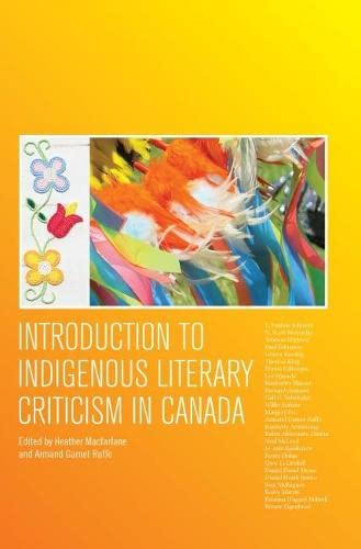 9781554811830: Introduction to Indigenous Literary Criticism in Canada