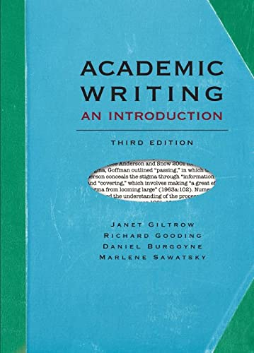 academic writing 3rd edition