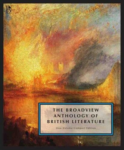 9781554812547: The Broadview Anthology of British Literature: One-Volume Compact Edition: The Medieval Period through the Twenty First Century