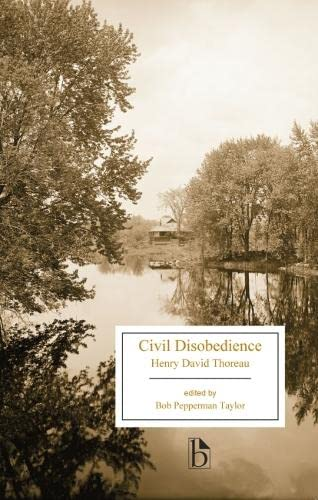 9781554813018: Civil Disobedience (Broadview Editions)