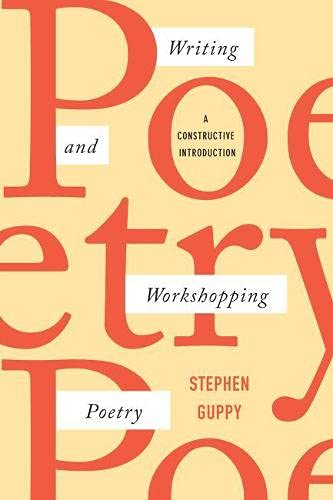 9781554813087: Writing and Workshopping Poetry: A Constructive Introduction