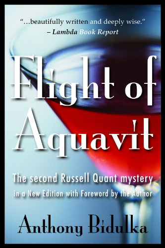 9781554830305: Flight of Aquavit (Russell Quant Mysteries)