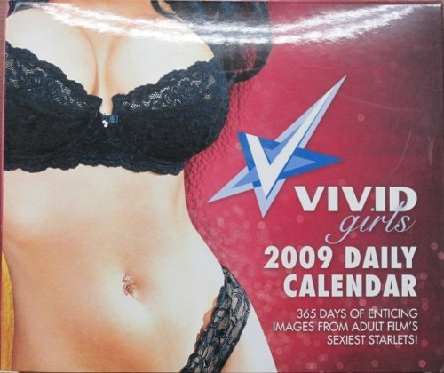 9781554840014: Vivid Girls 2009 Box Calendar: 365 Days of Enticing Images from Adult Film's Sexiest Starlets
