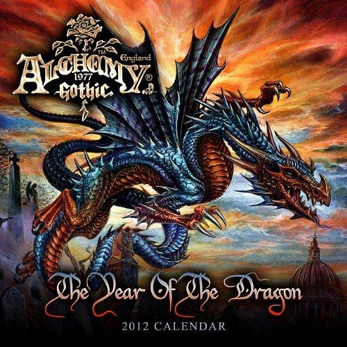 9781554841714: Alchemy: The Year of the Dragon 2012 Wall Calendar