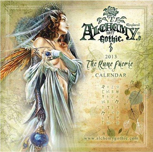 9781554842285: Alchemy Gothic The Rune Faerie 2013 Calendar