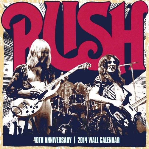 9781554842797: Rush 40th Anniversary Calendar